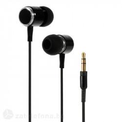 Слушалки марка Wallytech с алуминиев корпус - цвят черен