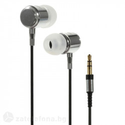 Слушалки марка Wallytech с алуминиев корпус - цвят бял