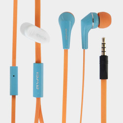 Handsfree слушалки марка Awei – цвят оранжев