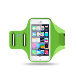 Спортна лента за ръка от материал Chinlon Lycra за телефон с размери до 165x80 – цвят зелен