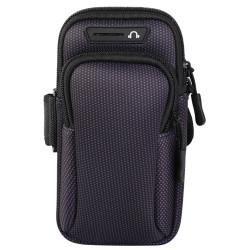 Спортна лента за ръка от неопрен тип джоб за телефон с размери до 190x90 – цвят черен