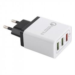 Универсално зарядно с три USB изхода