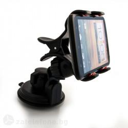 Универсална стойка за кола за телефон тип двойна щипка