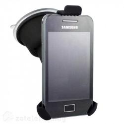 Универсална триъгълна стойка за кола за телефон с вакуумен механизъм за телефони с размери до 65 х 130 мм