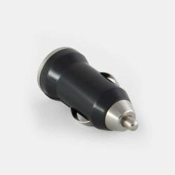 Зарядно за кола с USB изход - цвят черен