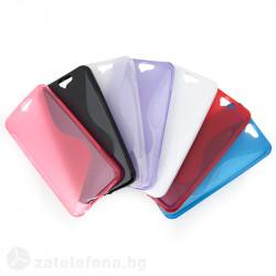 Силиконов калъф за HTC One A9 със S-образен дизайн