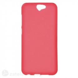 Силиконов калъф за HTC One A9 - червен