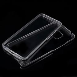 Цялостен гръб от силикон и пластмаса за Huawei Mate 20 Pro - прозрачен