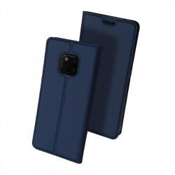 Тънък калъф страничен flip марка DUX DUCIS за Huawei Mate 20 Pro – тъмно син