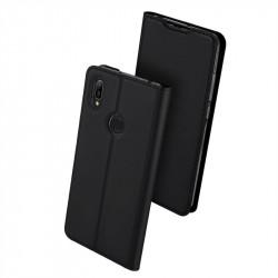 Тънък калъф страничен flip марка DUX DUCIS за Huawei Y6 2019 – черен