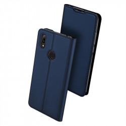 Тънък калъф страничен flip марка DUX DUCIS за Huawei Y6 2019 – тъмно син