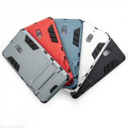 Хибриден гръб със стойка за Nokia 2.1