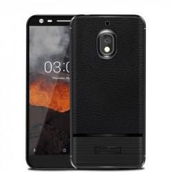 Силиконов гръб Rugged Armor за Nokia 2.1 - черен