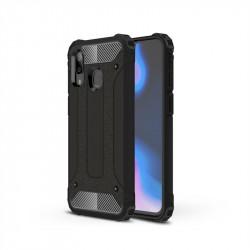 Хибриден гръб за Samsung Galaxy A40 - черен