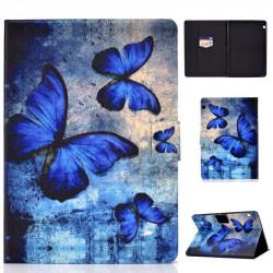 Калъф за Huawei MediaPad T3 10 инча - синя пеперуда