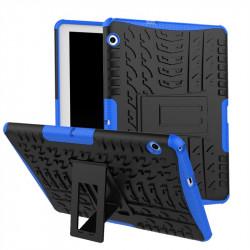 Двупластов гръб със стойка за Huawei MediaPad T3 10 инча - син