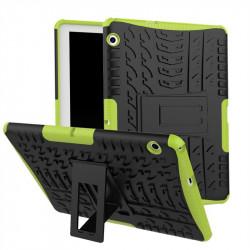Двупластов гръб със стойка за Huawei MediaPad T3 10 инча - зелен