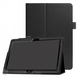 Кожен калъф за Huawei MediaPad T3 10 инча - черен