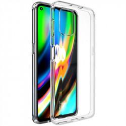 Силиконов гръб марка IMAK за Motorola Moto G9 Plus - прозрачен