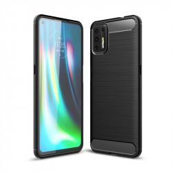 Силиконов гръб за Motorola Moto G9 Plus - черен